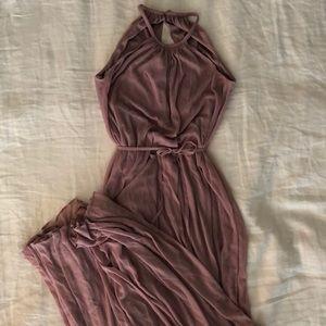 Mauve formal gown